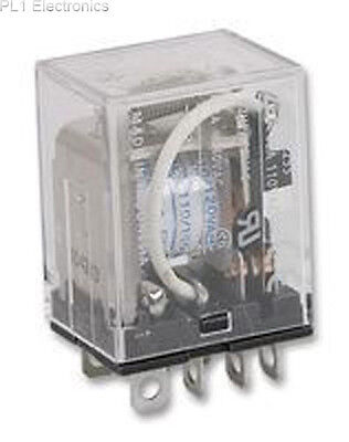 Omron Industrial Automation - Ly2 12Vdc - Relay, Plug-In, Dpco, 12Vdc