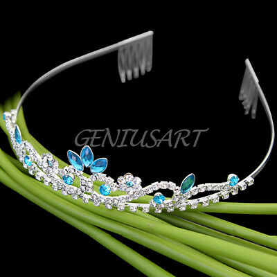 Fashion Crystal Rhinestone Wedding Bridal Prom Party Headband Hair Tiara Jewelry