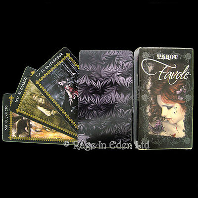 *FAVOLE* Gothic Vampire Fantasy Tarot By Victoria Frances With 78 Coloured Cards