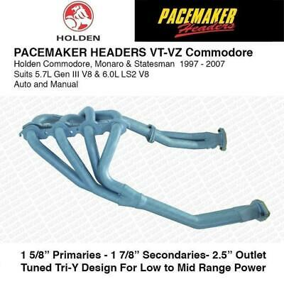 Pacemaker Headers Suitable For Commodore VT VZ 5.7L V8 1 5/8 Primarys