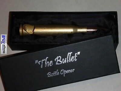 'The Bullet' - 50 Caliber Bottle Opener with Gift Box