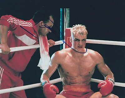 Dolph Lundgren Signed 8X10 Photo Drago Rocky Stallone Expendables Proof Coa