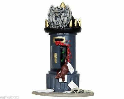 Lemax Spooky Town Village Haunted Mail Tower Post #44738 Table Display Creepy!
