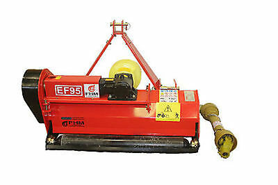 """37"""" Field PTO Flail Mower Cat.I 3pt 15HP+ Rating (FH-EF95)"""