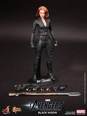 【Hot Toys】MMS178 The Avengers Black Widow 1/6 Figure NEW