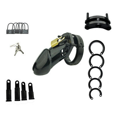 Black Amazing Price Standard Size Male Chastity Device A153-2