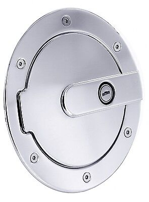 NEW Polished NonLocking Gas Fuel Door FOR TOYOTA TUNDRA PICKUP TRUCK 2007-2013
