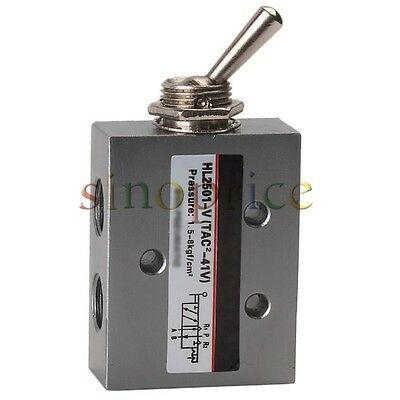 "PT1/8"" Female Thread Toggle Switch 5-way 2 Position Type Mechanical Valve"