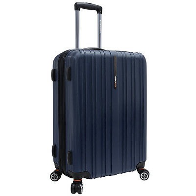 Traveler's Choice Navy / Blue 25in Tasmania Pure Polycarbonate Hardsided Spinner