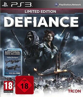 PS3 Spiel Defiance Limited Edition Uncut Neu&OVP Playstation 3 Paketversand