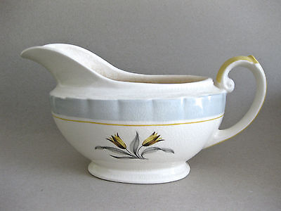 VINTAGE ART DECO 1930s BURLEIGH WARE 'PRINCESS' CHINA GRAVY / SAUCE  BOAT OR JUG
