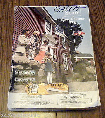 Vintage Sears Spring Summer 1976 1396 page Catalog Tools Bikes Clothes