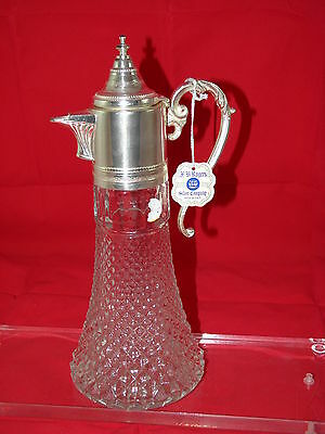 Antique F.b.rogers Silver Co. Decanter Circa 1900 Never Been Used.