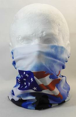 Multifunction head wrap neck tube scarf mask hat AMERCIAN SOLIDER USA cycling