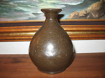 C1860 to 1880 Pottery Liquor Bottle, Hand Made in China! 6.5 Inches Tall! NICE!