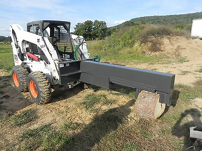 New CID Xtreme 30 Ton Log Wood Splitter Tree Shear Bobcat Skid Steer Loader 30T
