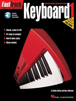 New Fasttrack Keyboard 1 Book & CD - Fast Track Music Book