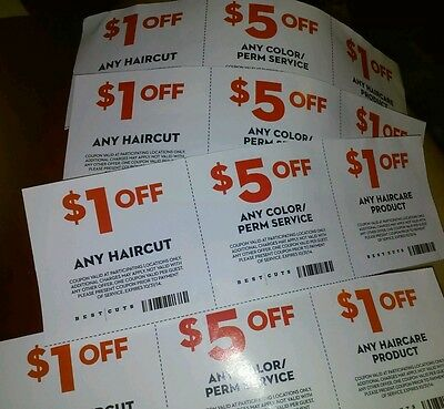 12 BEST CUTS COUPONS!!!