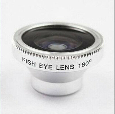 Magnetic Wide 180°Detachable Fish Eye Lens for apple iPhone 4 4G 4S CellPhone