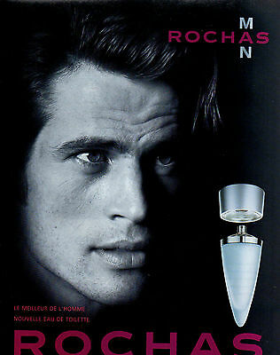 Publicité Advertising 1999  Parfum   MAN de ROCHAS