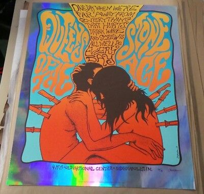 Queens of the Stone Age Poster by Jermaine Rogers Indianapolis 9/17/13 xx/30