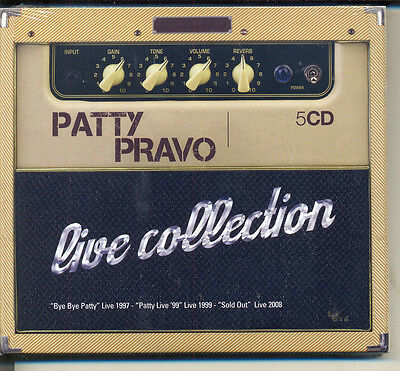 Patty Pravo Live Collection Box 5 Cd