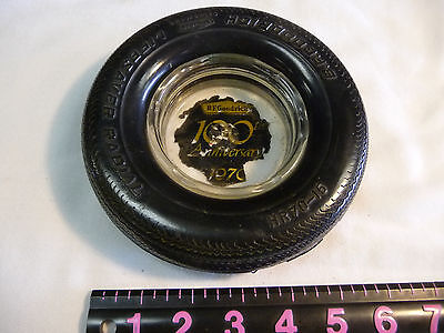 Vintage B.F. Goodrich 100th Anniversary 1970 Tire Ashtray