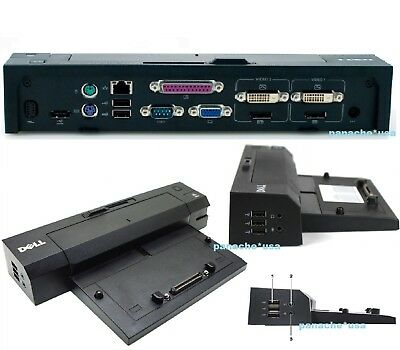Dell E Port Plus Dock Station Replicator PR02X E6220 E6320 E6420 E6520 E6530