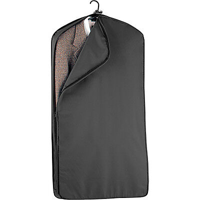 "Wally Bags 42"" Suit Length Garment Cover - Black Garment Bag NEW"