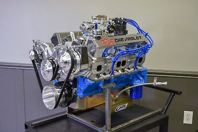 470 HP 383 Stroker SBC Custom Chevy Turn Key Crate Engine   HIGH-QUALITY-PARTS