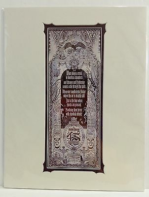 Disney Parks HAUNTED MANSION 45th ANNIVERSARY Creepy Old Crypts Print by Jeremy