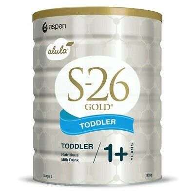 S26 Gold Toddler Aspen Alula Stage 3 Formula From 1 + Years 900G S-26 Milk Drink