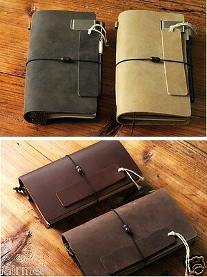 7X4 Handmade Refillable Vintage Retro Leather Traveler Journal Diary Note Book