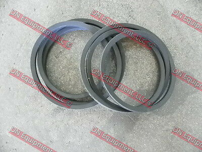 """176024 Replacement Belt set of 2 for Douglas 72"""" Rear Discharge Finish Mower"""