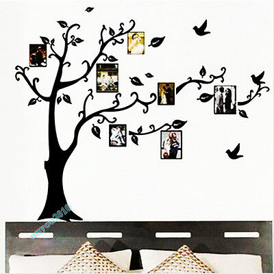 Moda Photo Árbol Hogar Arte Decoración Pegatina De Pared Vinilo Decorativo