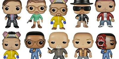Breaking Bad  and Better Call Saul Pop Vinyl Figures Jess Gus Jimmy Saul