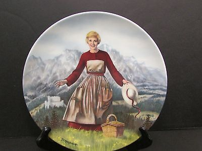 The Sound of Music plate 1st issue in series 1986 - Knowles - Bradford Exchange