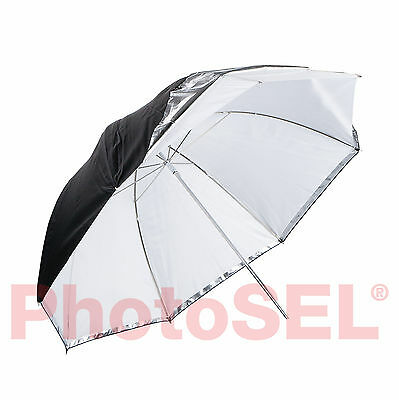 PhotoSEL UM472D 182cm Studio Detachable Parabolic Umbrella - Translucent White