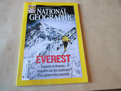 """national geographic 166 """"  everest ..""""..."""