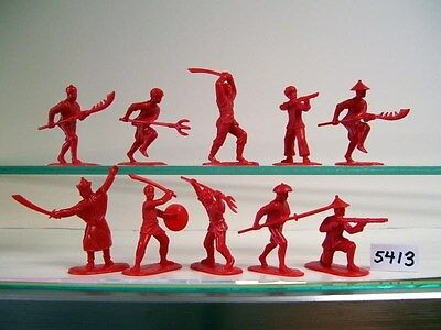Armies in Plastic Boxer Rebellion China -1900 Chinese Boxers #5413F