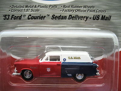"CMW/Mini Metals (HO 1:87) '53 Ford Courier""US Mail"" Sedan #30323  NEW ITEM!"