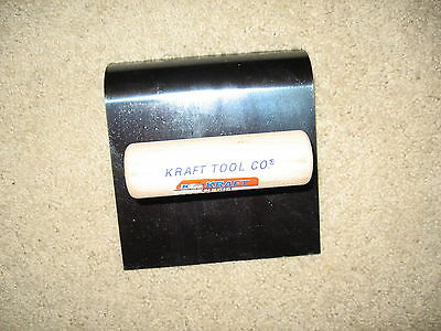"""6"""" X 6'' Blue Steel Hand Edger x 3/4"""" r -Concrete Tool Made in the USA"""