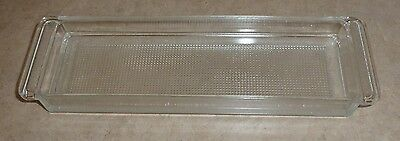Extra Long, Clear Glass Butter Dish