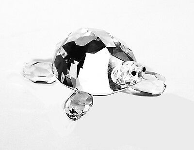 Crystal Tortoise Ornament 8cms. BRAND NEW. Gift Boxed