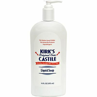 Kirk'S Natural Original Coco Castile Liquid Soap With Pump - 16 Fl Oz