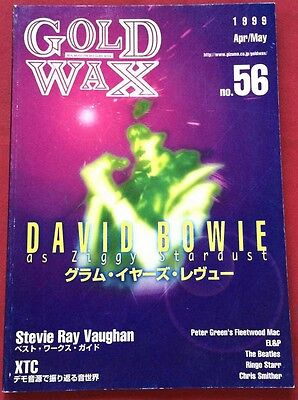 1999 Gold Wax Vol.56 Japan Music Magazine David Bowie The Beatles Chris Smither