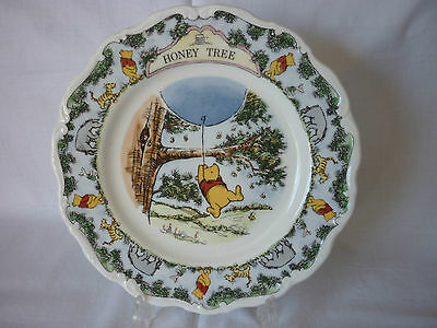 Royal Doulton Winnie the Pooh ' The Honey Tree ' Plate