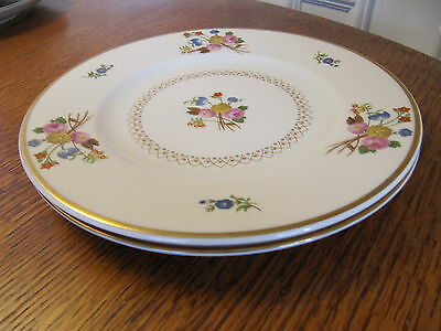 SET OF 2 SYRACUSE COVENTRY SALAD PLATES (c. 1949-66)