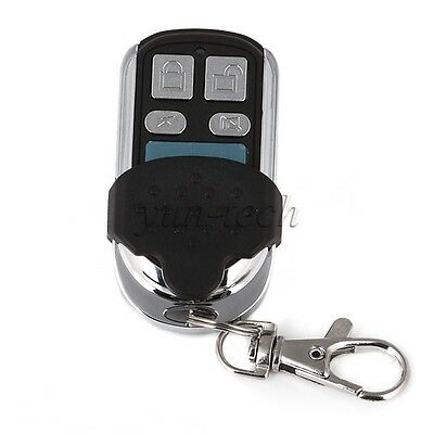 4CH RF Wireless Remote Control Code Learning Transmitter w/ Key Ring
