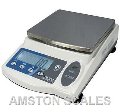 5000 x 0.1 GRAM DIGITAL SCALE BALANCE LAB ANALYTICAL CARAT GRAIN RELOAD TOP LOAD